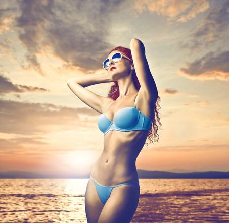 Sexy Bikini Model Wallpaper