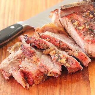 Slow Roasted Pork Shoulder.