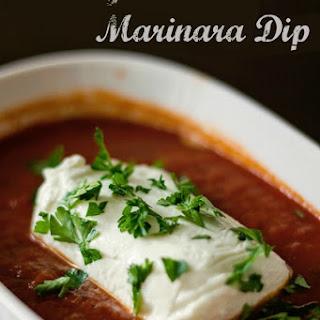 Goat Cheese and Marinara Dip