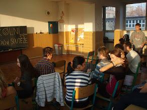 Photo: Školní kolo recitační soutěže - čtvrtek 10. listopad 2011.