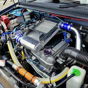 ジムニー JB23W X-Adventure XC(クロスアドベンチャーXC JB23-8型)パールメタリックカシミールブルー初年度登録 2012年(平成24年)4月のカスタム事例画像 Compact Blue さんの2020年08月02日17:46の投稿