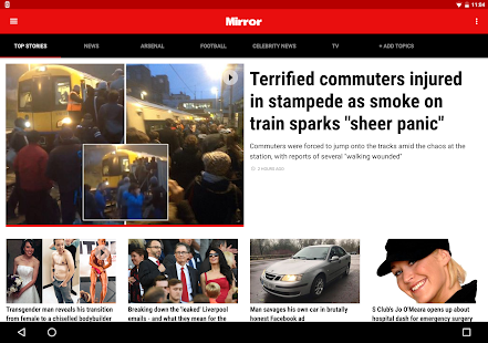 The Mirror App: Daily News- screenshot thumbnail