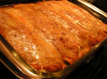 Creamy Chicken Enchiladas With A Twist Recipe