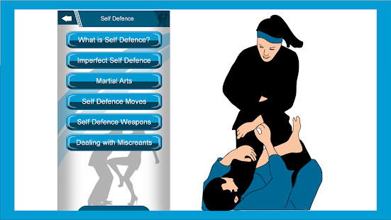 Perfect Self Defence app 1