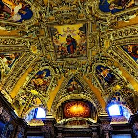 Basilica di Santa Maria Maggiore 2 - Rome,Italy  by Andjela Miljan - Buildings & Architecture Places of Worship (  )