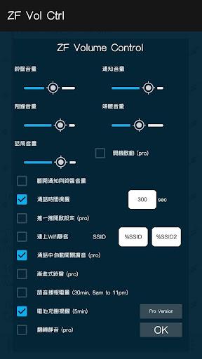ZF 音量調整 中文版