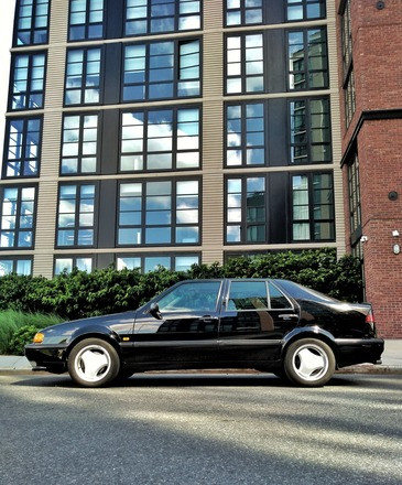 1996 Saab 9000 Aero (Black) Hire Brooklyn