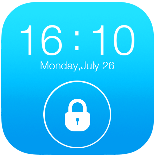 Lock Screen OS10 for Iphone 6 運動 App LOGO-APP開箱王