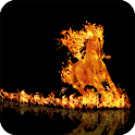 Horse Fire Pack 2 Wallpaper icon