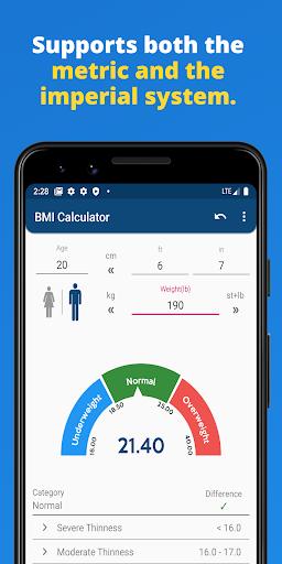 BMI Calculator 1.1.2 screenshots 4