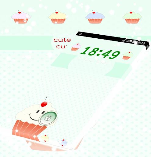 キュートなロッカーカップケーキ