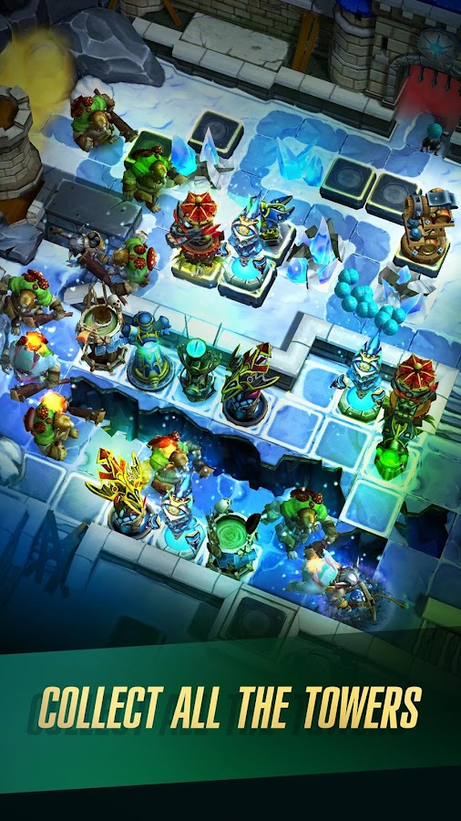 Defenders 2: Tower Defense CCG– captură de ecran