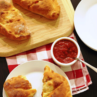 Calzone with Sausage and Peppers