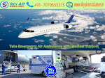Hire Sky Air Ambulance Service in Imphal with Low Budget