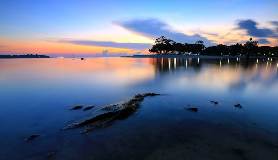 Sliver by Vince Chong - Landscapes Waterscapes