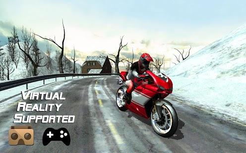 Frozen-Highway-Bike-Rider-VR 11