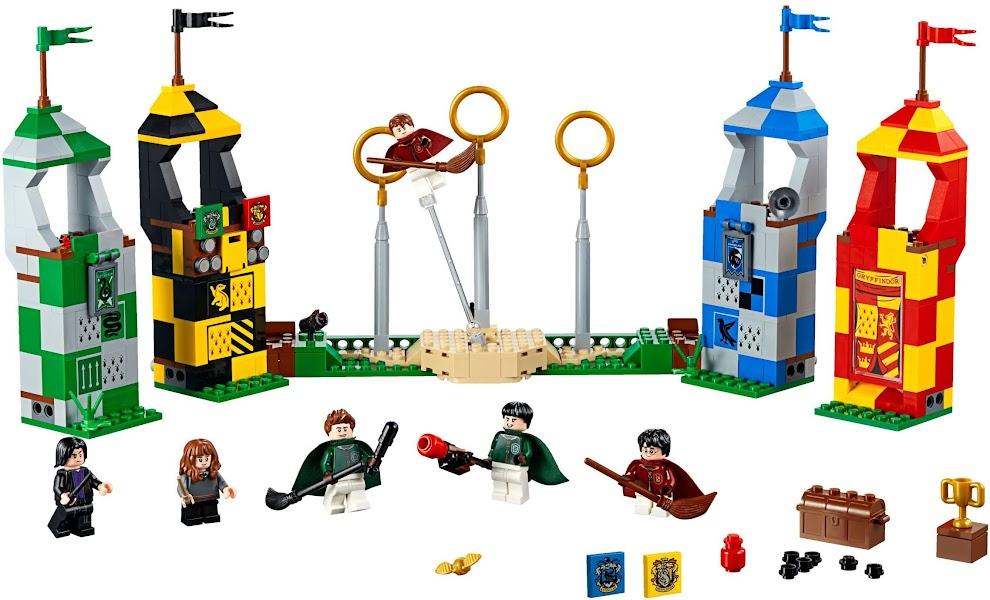 Contenido de Lego® 75956 Partido de Quidditch™