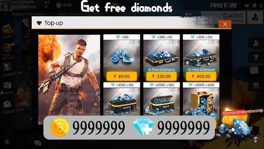 Garena Free Diamonds – Fire Guide for Free 2020 2
