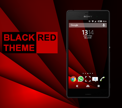 Black Red Theme Experian