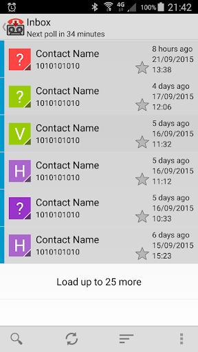 Visual Voicemail 1.13 screenshots 1