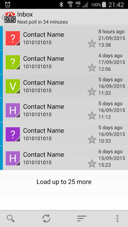 how to delete voicemail on vodafone