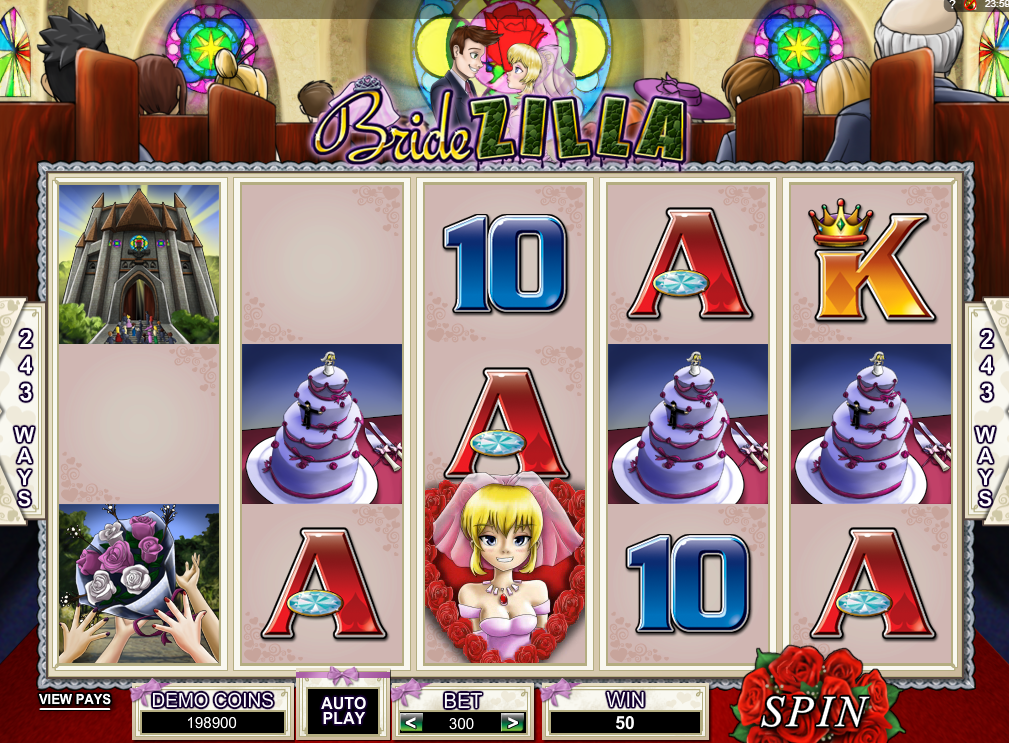 Bridezilla Slots Machine Review