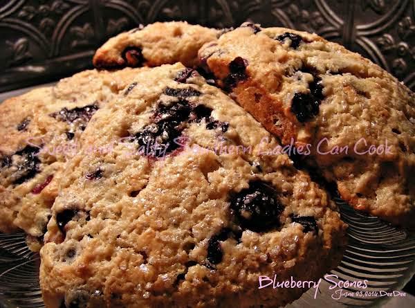 The Best Blueberry Scones Recipe