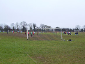 "Photo: 09/02/13 v Banbury Town (Banbury District and Lord Jersey League Supplementary Cup Section ""B"") 4-4 - contributed by Andy Molden"