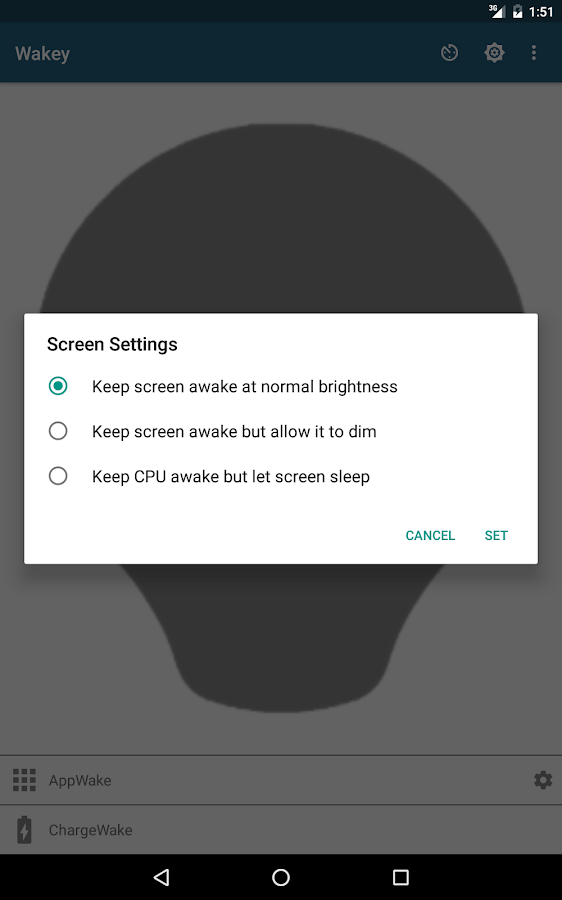 Wakey: Keep Your Screen On- screenshot