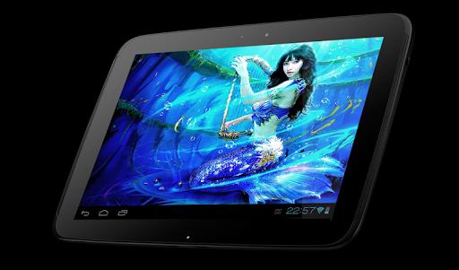 Lovely Mermaid Live Wallpaper