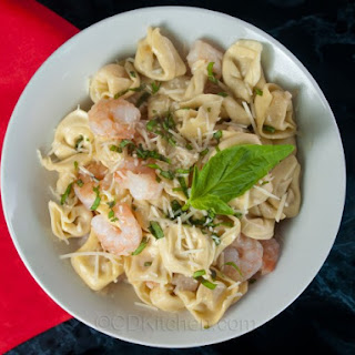 Shrimp With Cheese Tortellini Recipes