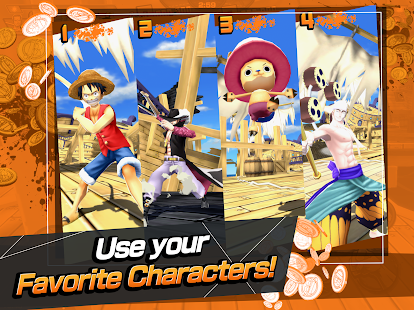 Game ONE PIECE Bounty Rush APK for Windows Phone