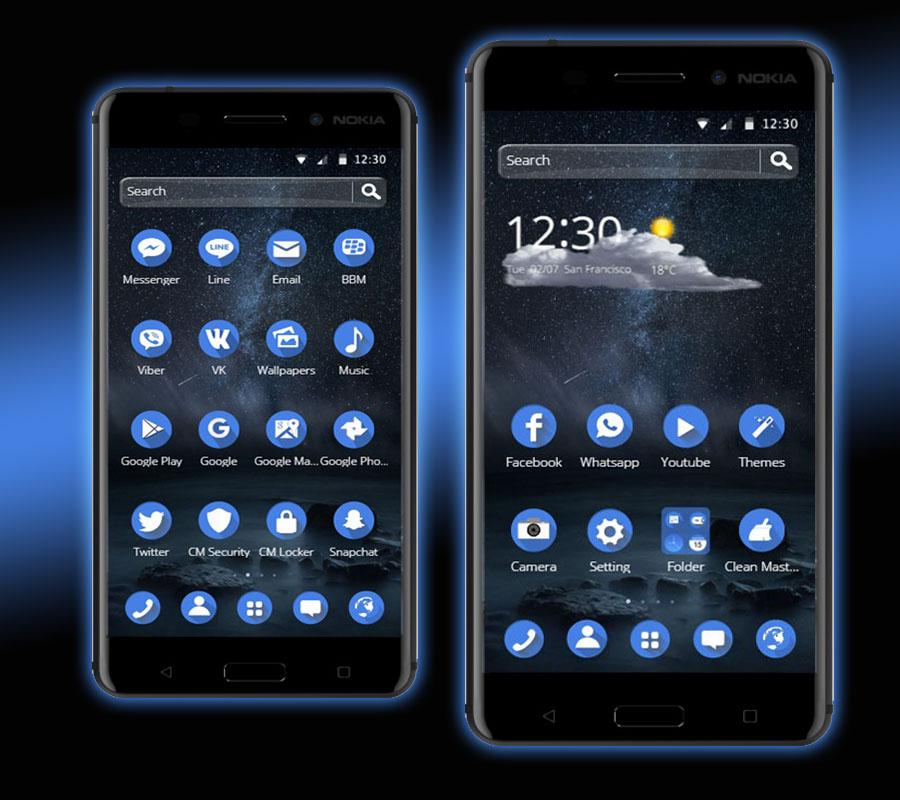 nokia x3-02 apps and themes