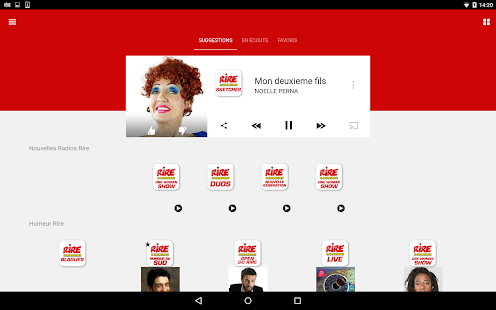 Rire & Chansons Radio Screenshot 11