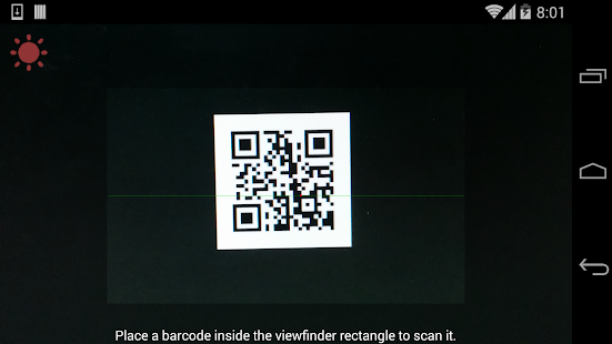 Barcode Qr Code Scanner Free Android Apps On Google Play