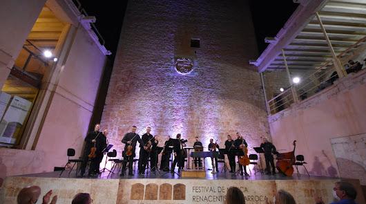 La Orquesta de Cámara de San Petersburgo conquista al público de Vélez-Blanco