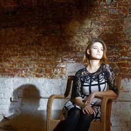 by RAJ (Constantinescu) Kapoor (Adrian Radu) - People Portraits of Women
