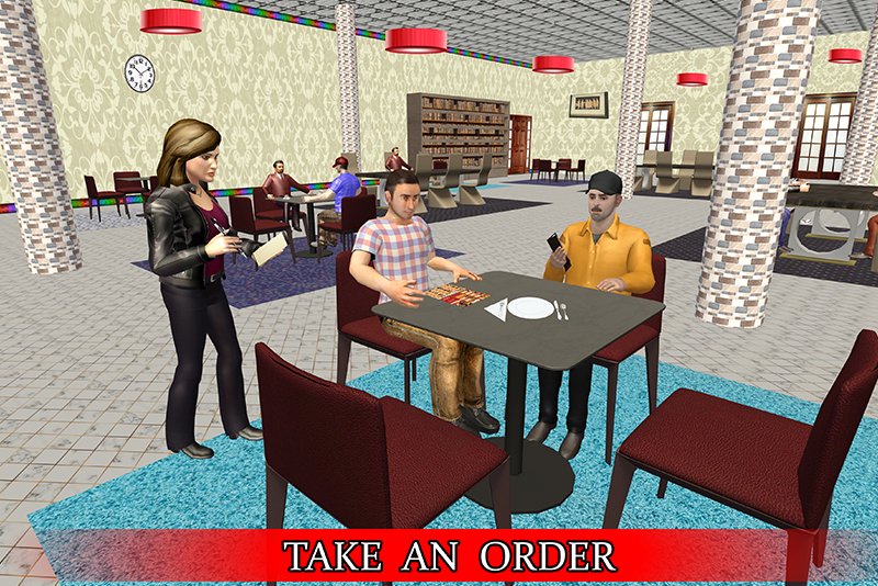 Virtual Waitress : Hotel Manager Simulator Cheat APK MOD Download 1.01