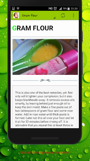 Skin Lightening And Treatments With Home Remedies 1.1 screenshots 3
