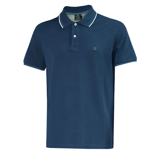 Champion Polo Herr Light Blue Stl: M