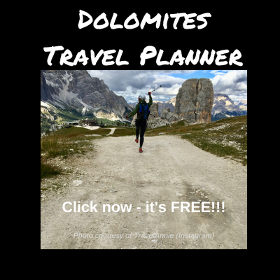 Click here for the Dolomites Travel Planner
