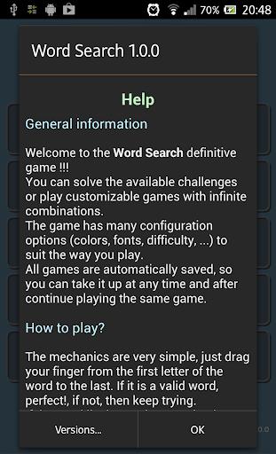 Word Search 1.1.9 screenshots 14