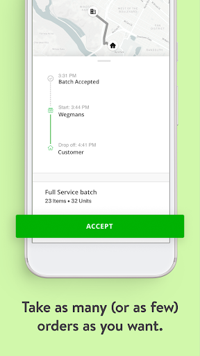 Screenshot for Instacart Shopper in United States Play Store