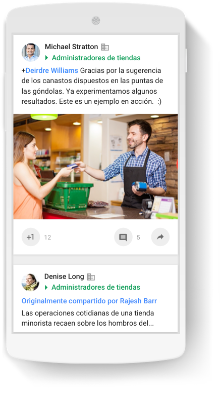 Work more efficiently with personalized content