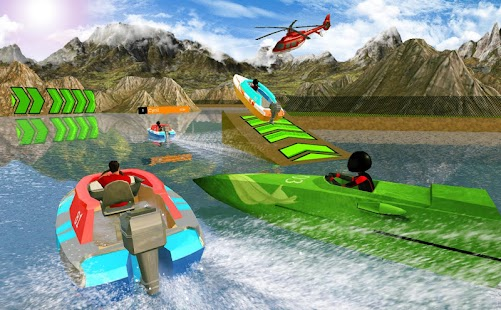 Extreme Power Boat Racing 17: 3D Beach Drive - náhled