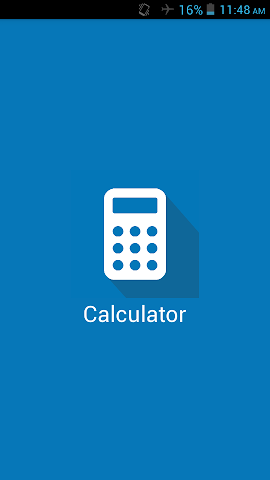 Screenshots for Calculator