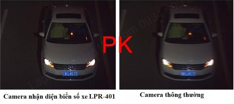 Camera đọc biển số xe