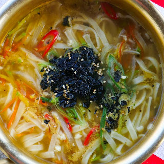 Easy Kalguksu (Korean Noodle Soup Recipe