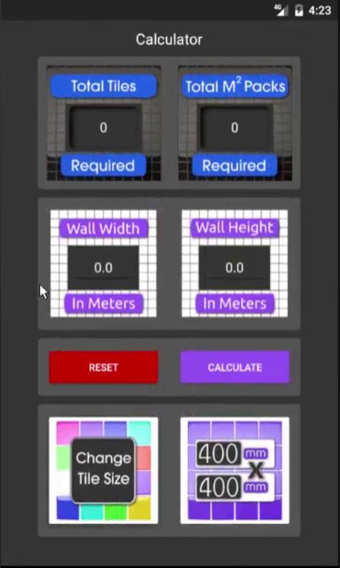 Tile calculator android apps on google play for Tile layout app