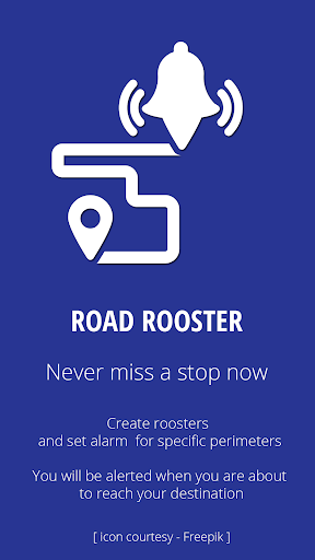 Road Rooster - Location Alarm